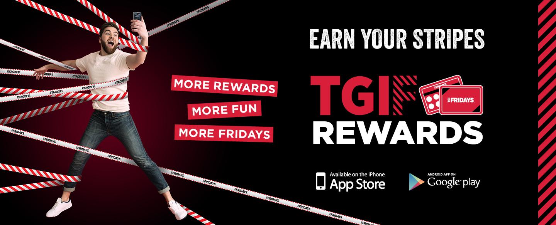 TGI Fridays Rewards App